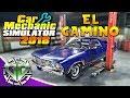 Car Mechanic Simulator 2018 : El Camino & Engine + Gearbox Repairs! (PC)