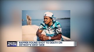 Detroit police investigating murder of rapper found in SUV on city's west side