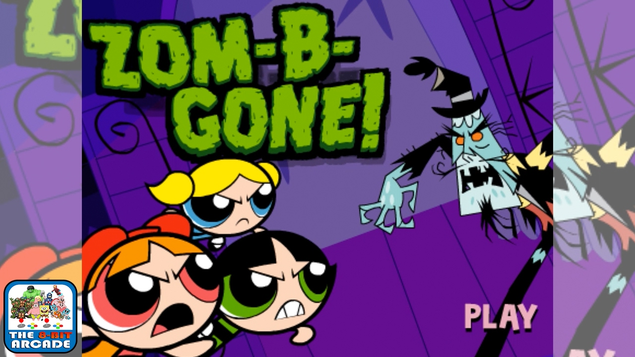 The Powerpuff Girls Zom B Gone Stop The Parade Of Zombie Animals Cartoon Network Games