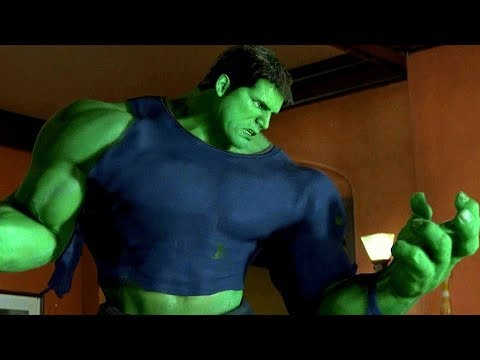 """Hulk - """"You're Making Me Angry"""" Talbot's Mistake Scene - Movie CLIP HD"""