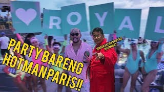 ABIS 80JT PARTY BARENG HOTMAN PARIS DI OMNIA??! #ROYALTRIP