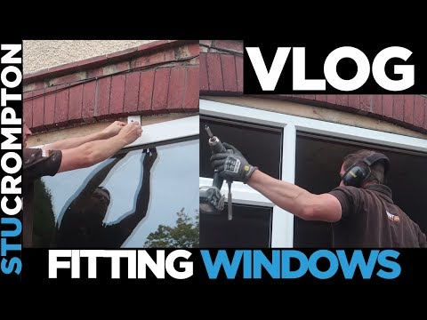 Hardest Job EVER Fitting Windows And New Tools Work Vlog