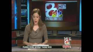 Jennifer Lask KOMU-TV 8 Cut-In Anchoring 9:25 AM 2/27/12