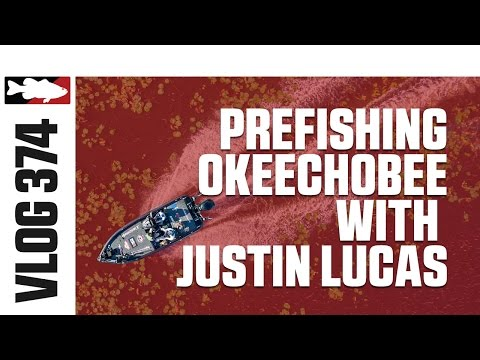 Pre-fishing Okeechobee with Justin Lucas and Berkley - TW VLOG #374