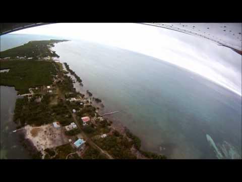 Caye Caulker Flyover Video (Belize Islands Real Estate).wmv