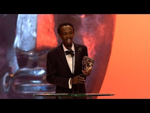 Barkhad Abdi wins Best Supporting Actor Bafta  The British Academy Film Awards 2014  BBC One