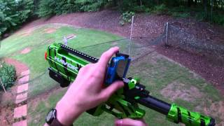 Honest Review: Tek Recon Havok Rifle (Comprehensive unboxing and firing demo)