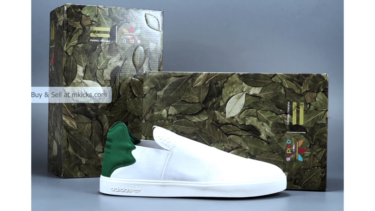 online store 45e76 cc9e1 adidas Elastic Slip-On x Pharrell Williams