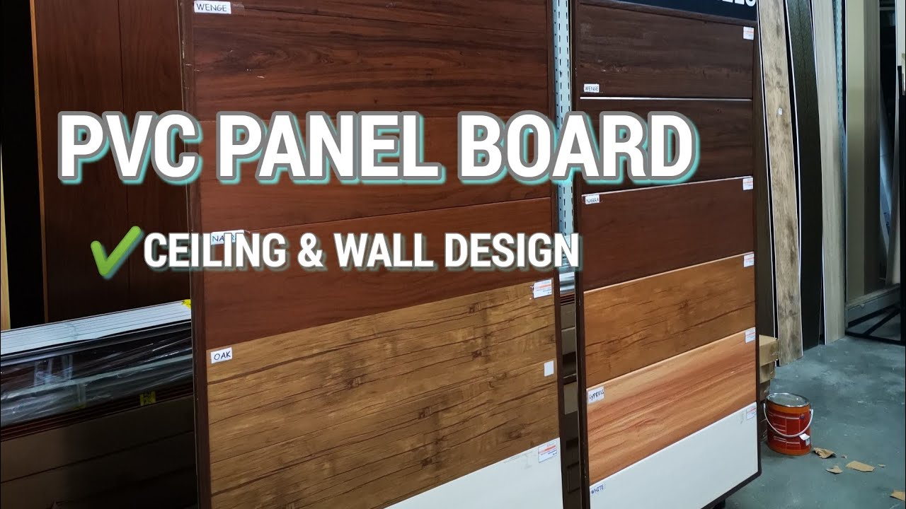Pvc Panel Board Designs And Prices For Wall And Ceiling Design Youtube