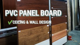PVC PANEL BOARD DESIGNS AND PRICES - for wall and ceiling design