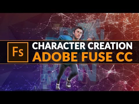 Character Creation With Adobe Fuse CC/Mixamo Beginner Tutorial