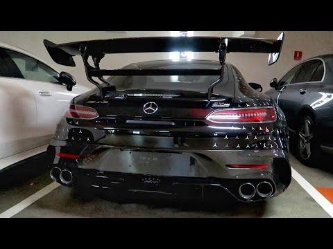 Mercedes AMG GT BLACK SERIES arrivée à Monaco !