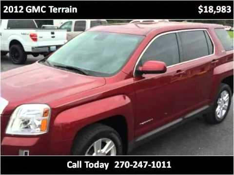 2012 gmc terrain used cars mayfield ky youtube for Seay motors mayfield ky