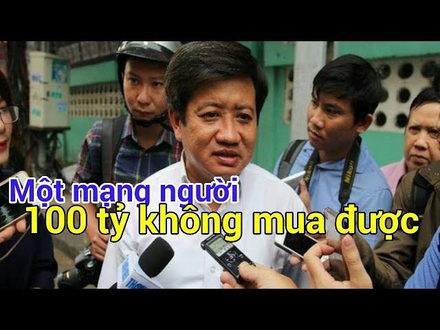 """Ông Đoàn Ngọc Hải: """"Một mạng người 100 tỷ không mua được"""""""