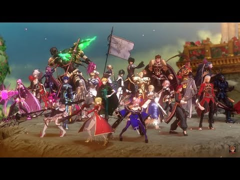 [Fate/Extella Link] ALL Intros and Noble Phantasms