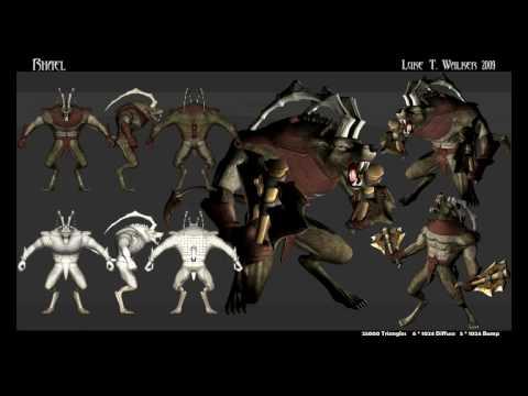 Luke T. Walker: 3D Showreel 2009