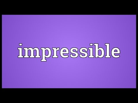 Header of impressible