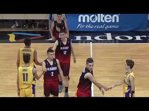 FIBA european championship u16 andorra     Andorra vs Albania  Basketball 1st Half