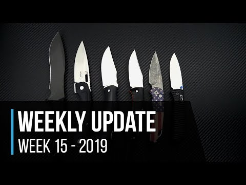 Weekly Update 15 - 2019: New Putman Custom Scales, Protech, Boker, Spartan Blades & More