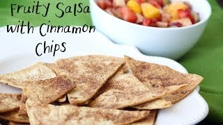 'the Hungry Cowboy' Makes Homemade Cinnamon Chips W/ Fruity Salsa!
