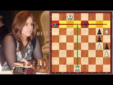 This Was Judit Polgar's Favorite Puzzle When She Was A Kid
