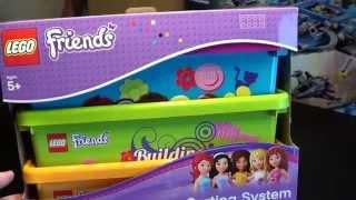Lego Storage Boxes Friends