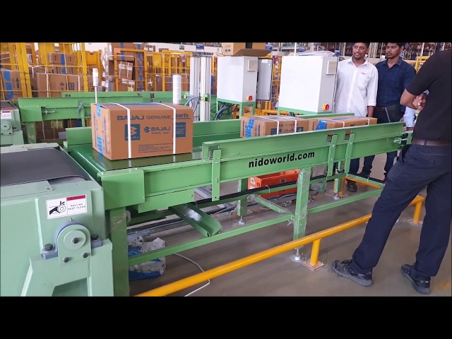 Online Barcode Scanning with Verification System | Conveyor Automation - Nido Machineries