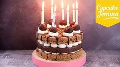 Celebration Cookie Layer Cake | Cupcake Jemma
