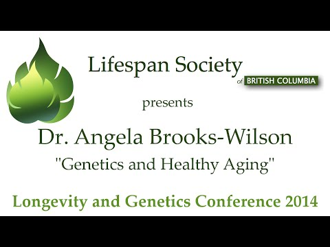 """Dr. Angela Brooks-Wilson: """"Genetics and Healthy Aging"""""""