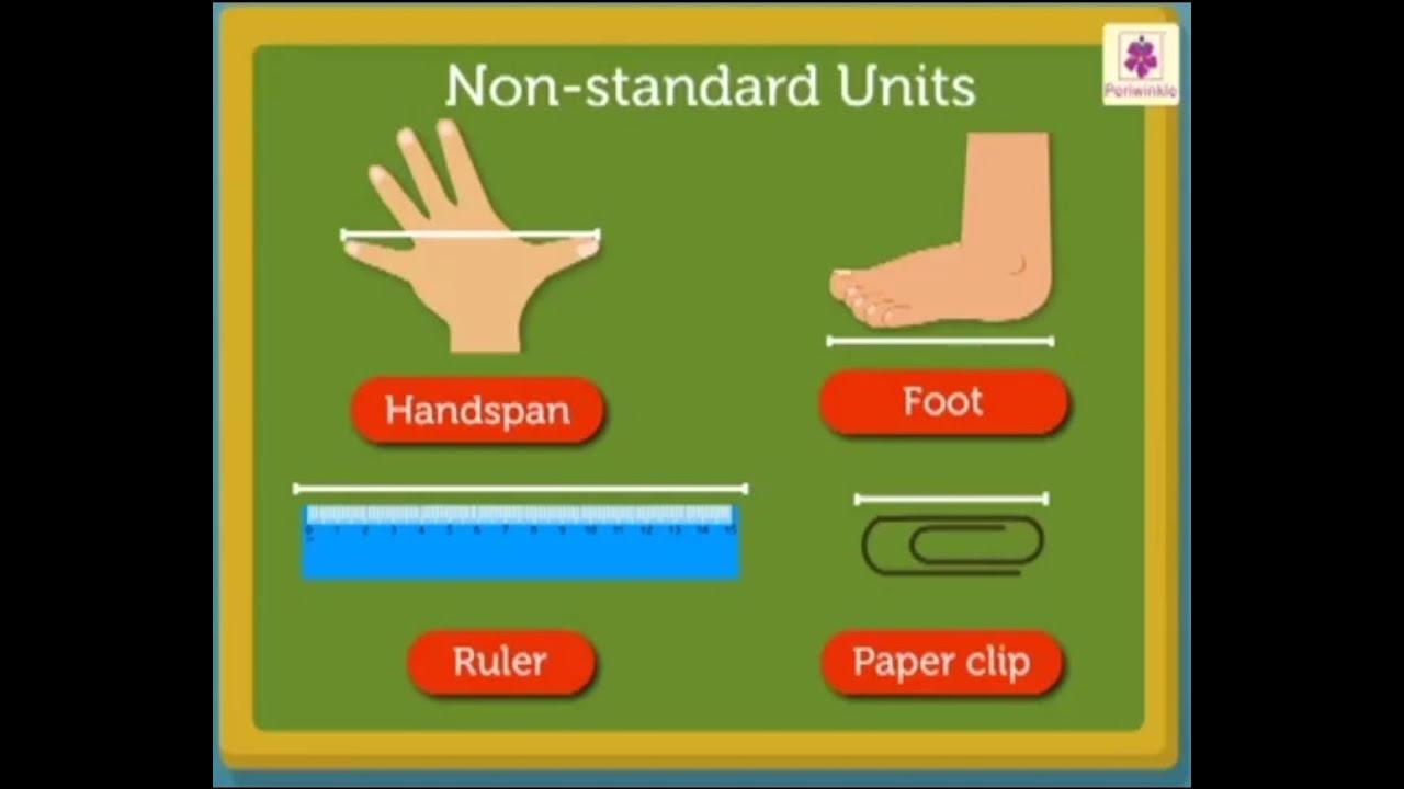 Download Length Uniform Non - Standard  Units   Mathematics Grade 2   Periwinkle