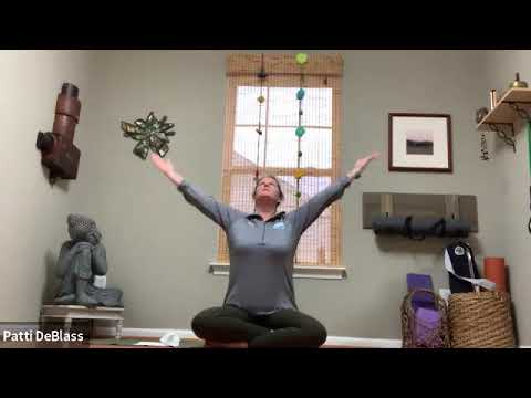 Wake Up Yoga  with Patti - 45 Minutes