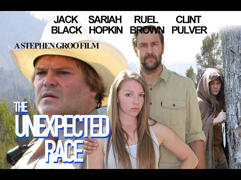 Jack Black in Unexpected Race - Sheriff with Greg