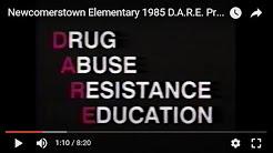 Newcomerstown Elementary 1985 D.A.R.E. Program