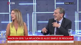 """Macri en 2015: """"La inflación es algo simple de resolver"""""""