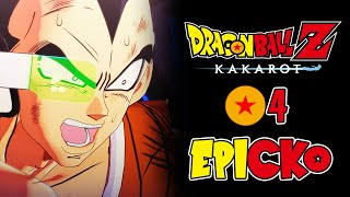 GOKU I PICCOLO VS RADITZ! Dragon Ball Z KAKAROT PL E04
