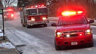 Fire Trucks Responding Compilation #6