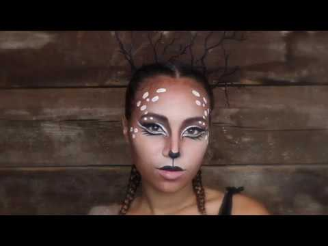 Doe Hair and Makeup Tutorial - Wonderland Beauty Parlor