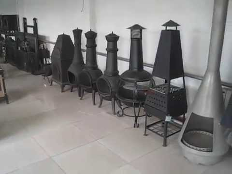 Cast iron stoves showroom