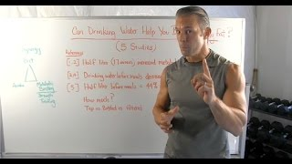 Drinking Water Burns More Belly Fat (5 Studies)