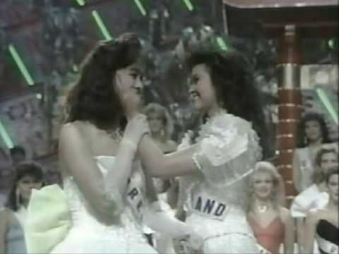 """Porntip P Bui """"After Crowning Miss Universe 1988"""""""