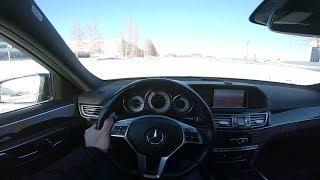 Фото с обложки 2013 Mercedes-Benz E300 4matic Pov Test Drive