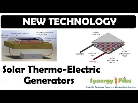 Solar Thermo Electric Generator (STEG)