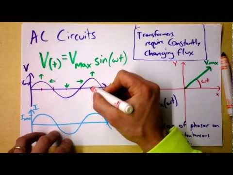 Intro to AC Circuits using Phasors and RMS Voltage and Current | Doc Physics
