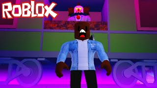 THE KILLER CLOWN ISN'T SUCH A KILLER AFTER ALL, HE WAS TRAPPED | ROBLOX