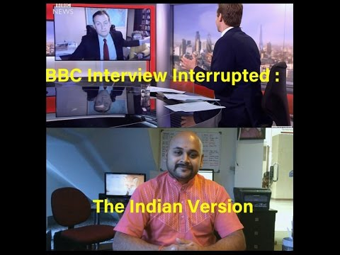 Thumbnail: BBC Interview Interrupted : The Indian Version