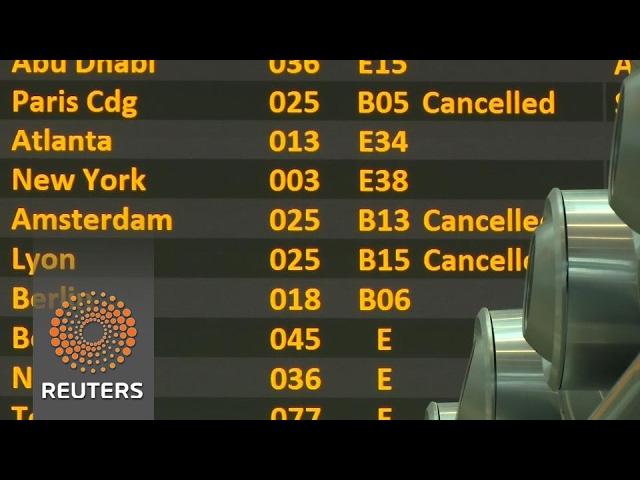 Alitalia grounds flights as staff go on strike