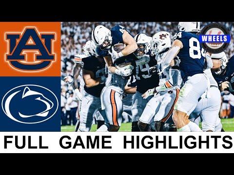 #10 Penn State vs #22 Auburn Highlights | College Football Week 3 | 2021 College Football Highlights