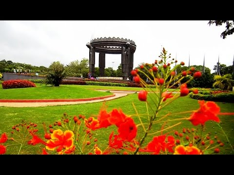 The Best Video! NTR Ghat at Hussain Sagar, Hyderabad | HD Video