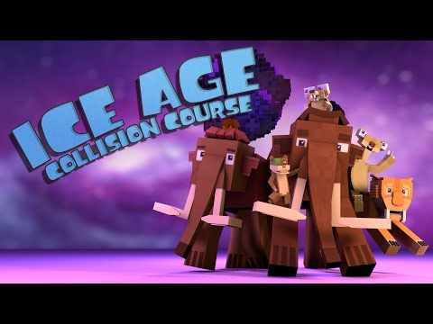 Minecraft Parody - ICE AGE COLLISION COURSE! - (Minecraft Animation)