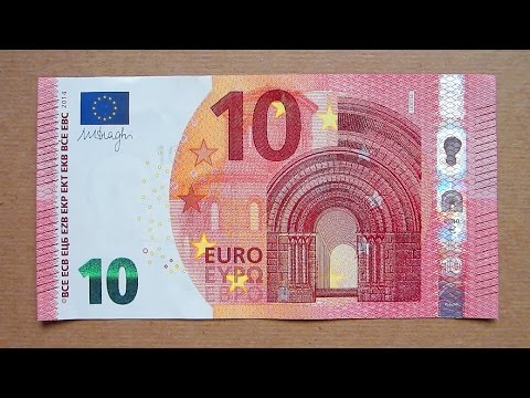 new 10 euro banknote ten euro 2014 obverse reverse youtube. Black Bedroom Furniture Sets. Home Design Ideas